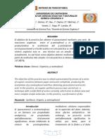 Informe Sintesis de Paracetamol