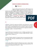 Diccionario Comercio Internacional Exterior