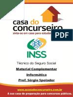 Materialcomplementar Inss 2015 Informatica Sergiospolador