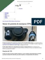 Sensor de Posición de Mariposa (TPS) _ Pruebaderuta.com