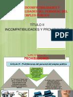 Ley de Incompatibilidades y Responsabilidades Del Personal Del