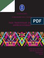FAJAS TRADICIONALES AUSTRO ECUATORIANO