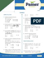 Algebra Sem 3 - tarea