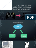 french oral presentation video games
