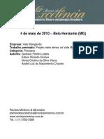 Vale Manganes Processo 12 Premio de Excelencia