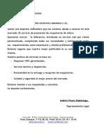 Carta de Presentacion Rental OP