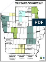 Iowa DNR Private Lands Program Staff