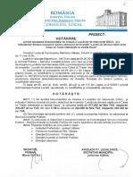 Proiect de Hot.aprobare DALI Lucrari Deviere Retele Intersectia Strada Dacia