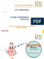III Web Conference Inteligencia y Creatividad Definitivas (1)