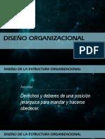 Partes Del Diseño Organizacional