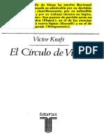 Kraft, Victor - El Círculo de Viena - El Ambito de Lo Cognoscible