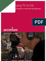 Accenture Bringing TV to Life