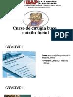 Curso de Cirugía Buco Máxilo Facial Hasta Fracturas Mandibulares