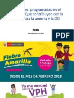 Campañas Pan Realizar 2018