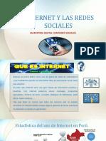 Internet y Las Redes Sociales