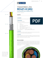 Topcable Toxfree Zh Rc4z1-k as Esp