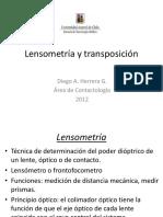 Lensometría y Transposición