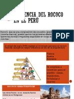Presencia Del Rococo en El Perú