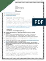 Divorcio Convencional Pasos y Requisitos