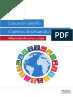 Objetivos de Aprendizaje ODS