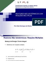 Reatores Não Isotérmicos Com Reações Múltiplas