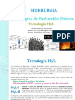 Tecnologías de RD (HYL)