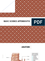 Basic Science Appendisitis