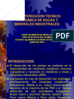 Caracterizacion Tecnico-economica de Rmi No Metalicos