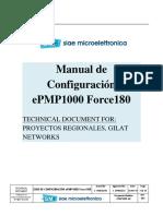 Configuración de Equipos Cambium EPMP1000_force180V2