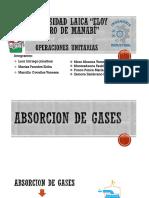 Absorcion de Gases Exposicion