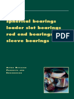 NHBB RodEnd and Spherical Bearing Products and Engineering Catalog-2014