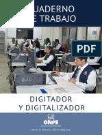 Digitador y Digitalizador - ONPE
