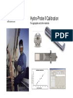 Hydronix HydroProbe II Calibration