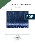 El Tiempo de La Lluvia Tardía Vol 1 - Tema 2