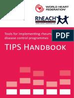 Tips Handbook World Heart Federation Rheach
