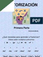 factorizacion primera parte