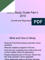 Unit 2 Study Guide Part a 2010]