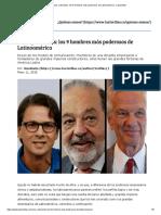 Ricos y Discretos_ Los 9 Hombres Más Poderosos de Latinoamérica - Las2orillas