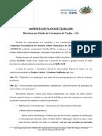 Plano de Trabalho Coleta Seletiva Varjão - GO
