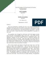 Tapanes v. State (Fla. App. Sept.8, 2010)