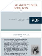 Dankmar Adler y Louis Soullivan