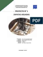 Proyecto Zapatas Aisladas
