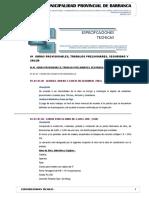 2.0 Especificaciones Tecnicas