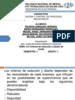 2.4 Criterios de Selección y Diseño