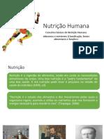 Aula Nutrição Humana Introdução [Salvo Automaticamente]