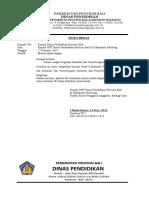 Nota Dinas UNBK