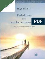 Palabras Para Cada Amanecer - Hugh Prather