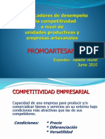 TUMBES Los indicadores de desempeño de la competitividad a nivel de MyPEs artesanales.pptx