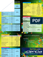 Programacion Semana Ciencia 2014