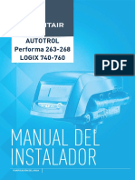 Manual Autotrol Performa 263-268 Logix740-760 Es